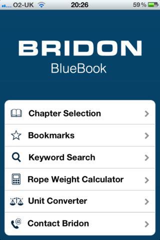 Bridon Blue Book